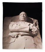 Martin Luther King Jr Memorial Fleece Blanket