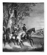 Lees Surrender, 1865 Fleece Blanket