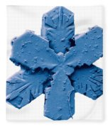 Snow Crystal Fleece Blanket