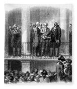 Washington: Inauguration Fleece Blanket