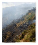 Barnett Fire Fleece Blanket