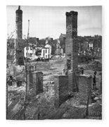 Civil War: Richmond, 1865 Fleece Blanket