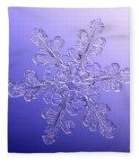 Snowflake Fleece Blanket