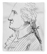 George Washington Fleece Blanket