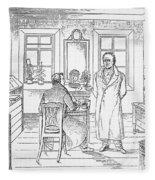 Johann Goethe (1749-1832) Fleece Blanket