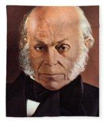 John Quincy Adams Fleece Blanket