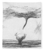Waterspout Fleece Blanket