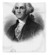George Washington Fleece Blanket