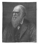 Charles Robert Darwin, English Fleece Blanket
