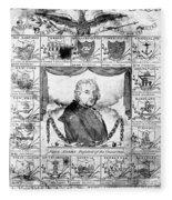 John Adams (1735-1826) Fleece Blanket