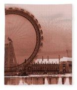 London Eye Art Fleece Blanket