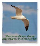 19- Hope Whispers Fleece Blanket