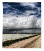 Storm Clouds Saskatchewan Fleece Blanket
