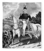 Zachary Taylor (1784-1850) Fleece Blanket