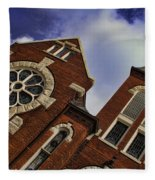 1901 Uab Spencer Honors House Fleece Blanket