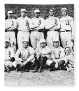 1902 Philadelphia Athletics Fleece Blanket