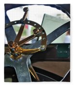 1913 Chalmers - Steering Wheel Fleece Blanket