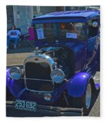 1929 Ford Model A Fleece Blanket
