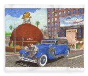 1931 Lincoln K Dietrich Phaeton Fleece Blanket