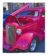 1934 Chevy Coupe Fleece Blanket