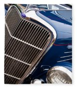 1935 Ford Coupe Fleece Blanket