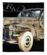 1940 Pontiac Transparent Fleece Blanket