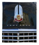 1941 Cadillac Grill Fleece Blanket