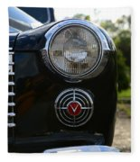1941 Cadillac Headlight Fleece Blanket