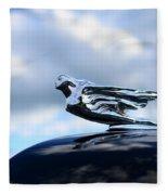 1941 Cadillac Hood Ornament - The Goddess Fleece Blanket