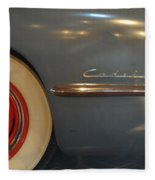 1942 Cadillac - Series 62 Sedanette Fastback Fleece Blanket