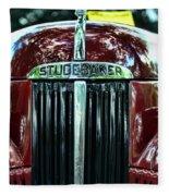 1947 Studebaker Grill Fleece Blanket