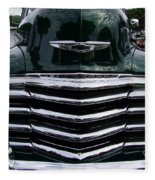 1948 Chevy Coupe Grille Fleece Blanket