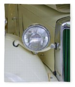 1952 Mg Roadster Headlamp Fleece Blanket