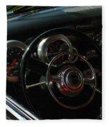 1953 Mercury Monterey Dash Fleece Blanket
