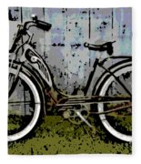 1953 Schwinn Bicycle Fleece Blanket