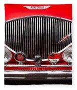 1955 Austin Healey 100-4 Fleece Blanket