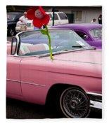 1959 Cadillac Convertible And The 1950 Mercury Fleece Blanket