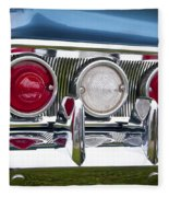 1960 Chevrolet Impala Tail Light Fleece Blanket