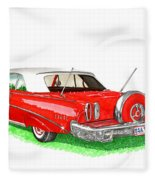 1960 Edsel Ranger Continental Kit Fleece Blanket