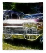 1962 Caddy Cadillac Fleece Blanket