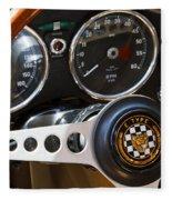 1962 Jaguar Fleece Blanket