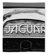 1963 Jaguar Back Up Light Fleece Blanket