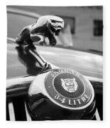1963 Jaguar Mkii  Fleece Blanket