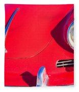 1963 Red Porsche Fleece Blanket