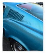 1968 Ford Mustang Fastback  Profile Fleece Blanket