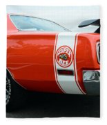 1970 Dodge Super Bee 2 Fleece Blanket