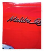 1971 Chevrolet Chevelle Malibu Convertible Fleece Blanket
