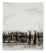 1st U.s. Colored Infantry Fleece Blanket