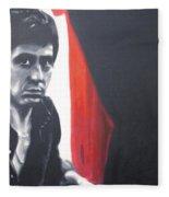 - Scarface - Fleece Blanket
