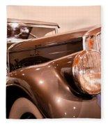 1933 Pierce-arrow 12 Model 12412 Labaron Convertible Coupe Fleece Blanket